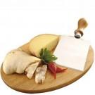 Tábua de Madeira Oval para Queijo Muzzarella